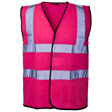 Supertouch Hi Vis Vest - Pink - Worklayers