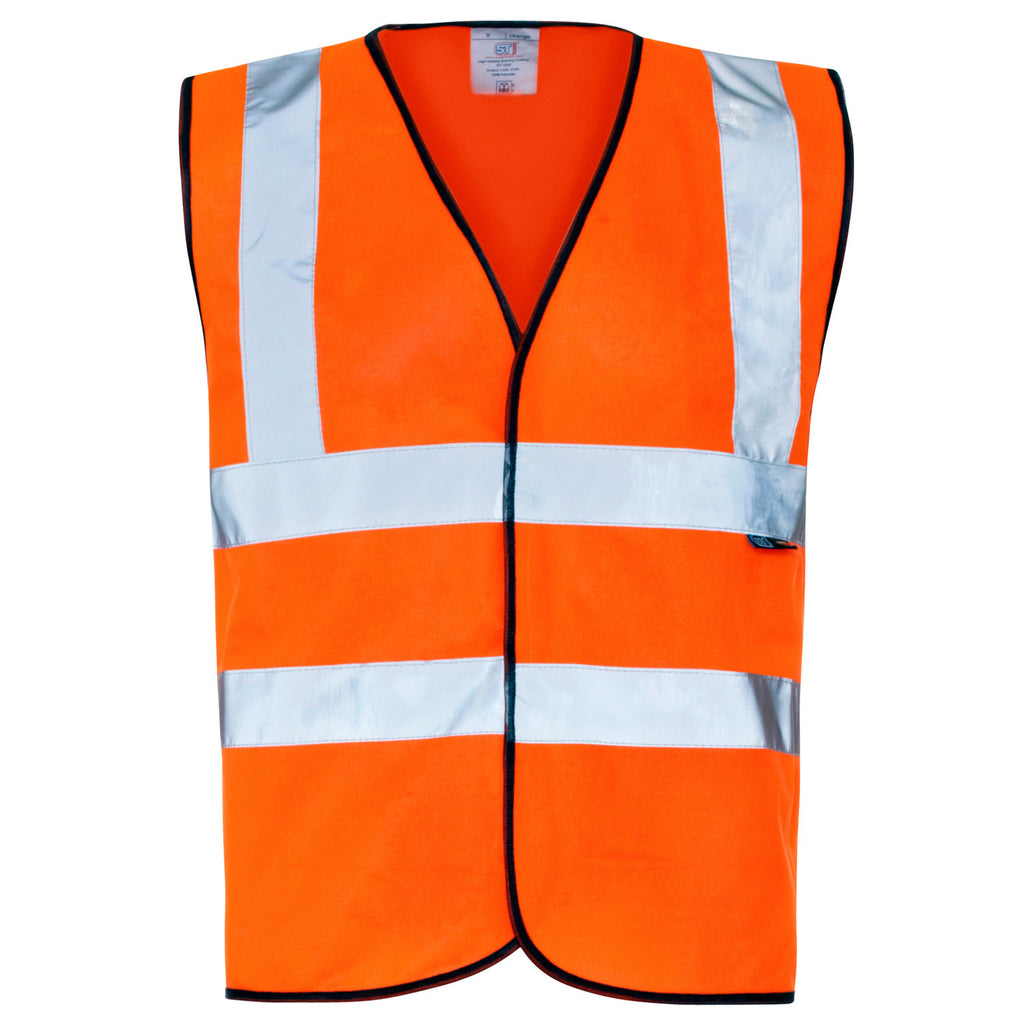 Supertouch Hi Vis Vest - Orange - Worklayers