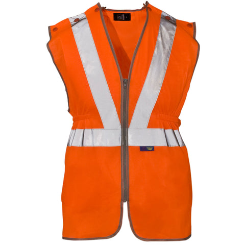 Supertouch Hi Vis Long Tracker Vest - Worklayers