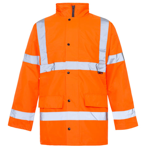 Supertouch Hi Vis Jacket - Orange - Worklayers