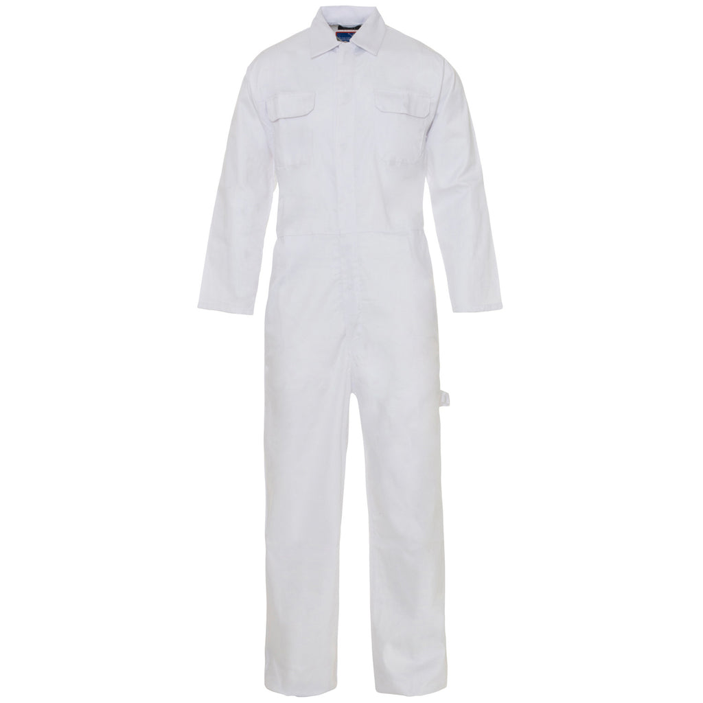 Supertouch PolyCotton Coverall - White - Worklayers