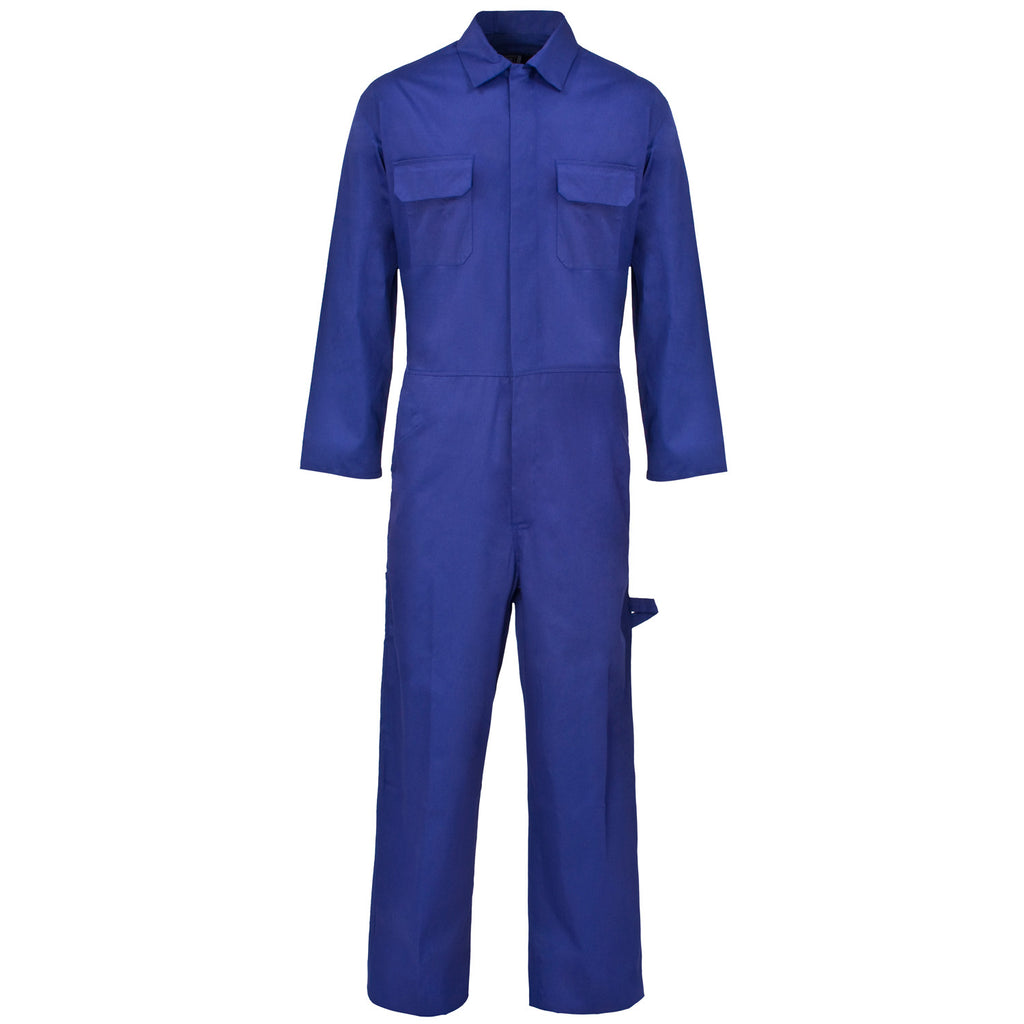 Supertouch PolyCotton Coverall - Royal Blue - Worklayers