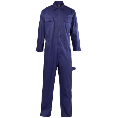 Supertouch PolyCotton Coverall - Navy - Worklayers