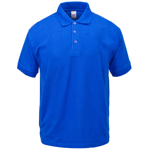 Classic Polo Shirt Supertouch - Royal Blue - Worklayers