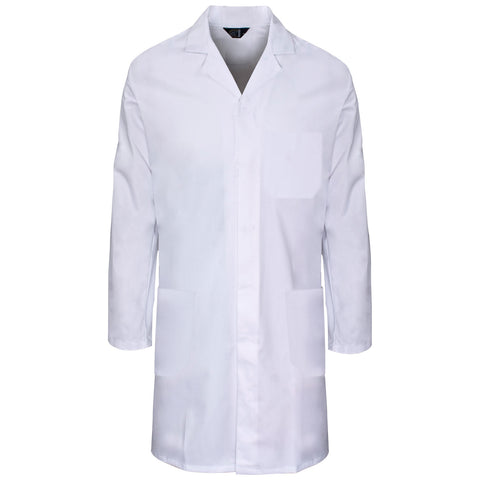 Supertouch Polycotton Lab Coat - White - Worklayers