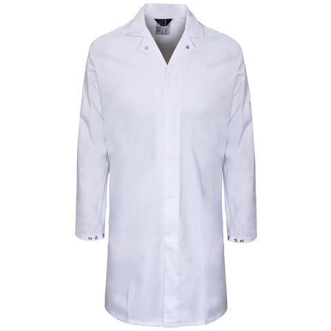 Supertouch Polycotton Food Coat - White - Worklayers