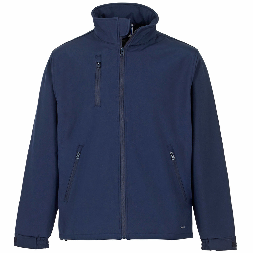 Supertouch Verno Soft Shell Jacket - Navy - Worklayers