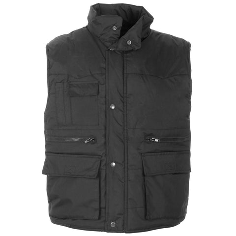 Supertouch Multipocket Bodywarmer - Black - Worklayers