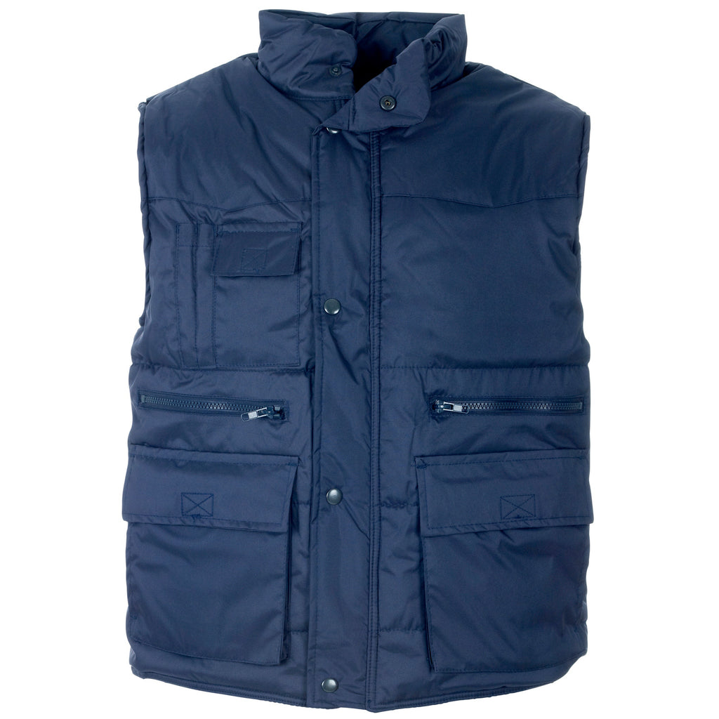 Supertouch Multipocket Bodywarmer - Navy - Worklayers