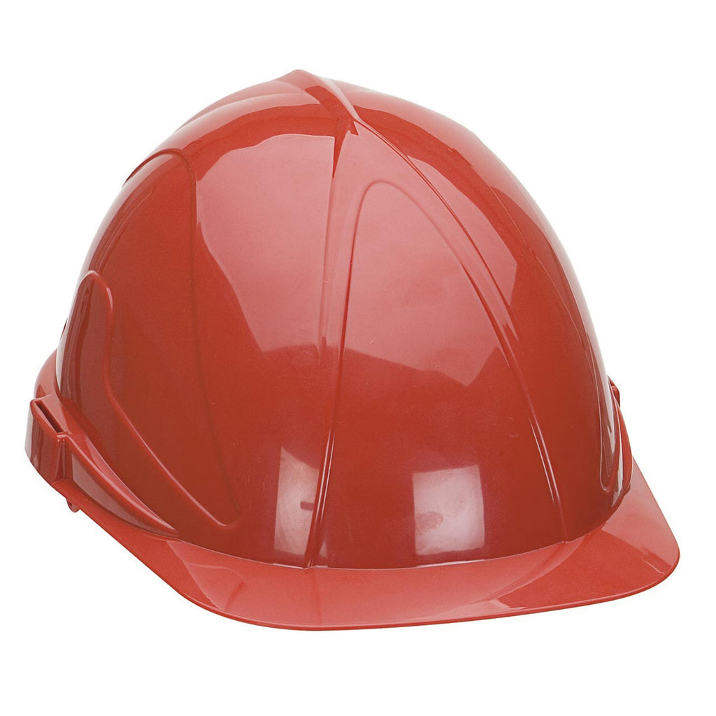 Supertouch Safety Helmet ABS - Red - Worklayers