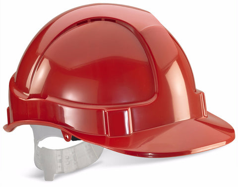 UCI Safety Helmet Vented - Red - Worklayers