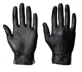 Black Powder free Vinyl Gloves - Worklayers Ltd
