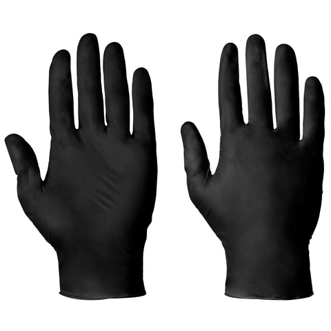 Black Nitrile Gloves AQL 1.5 - Worklayers