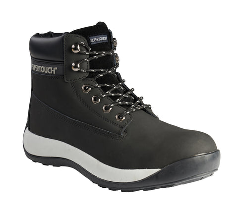 Black Safety Boots (S3 SRC) - Worklayers.co.uk