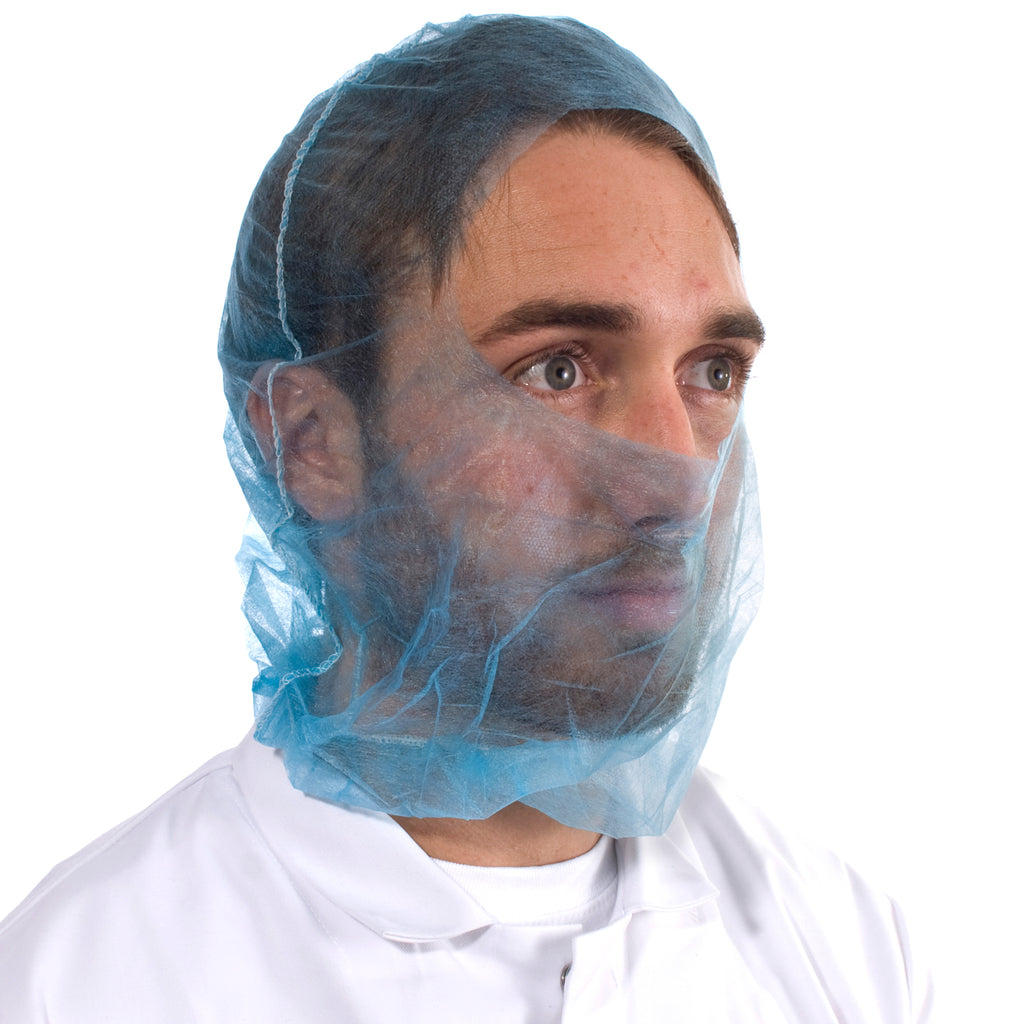 Blue Disposable Balaclavas - Worklayers