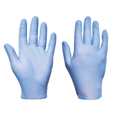 Blue Nitrile Gloves Ultra - Worklayers