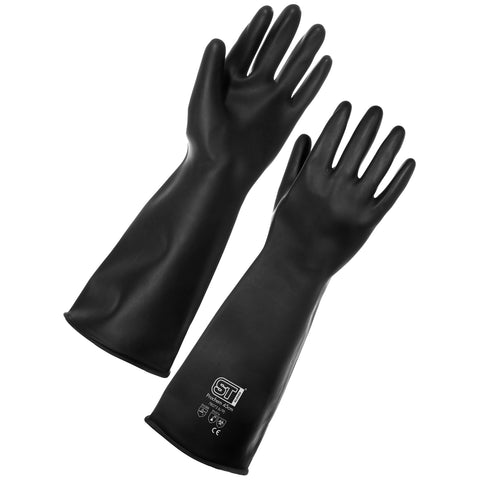 Chemical Resistant Gloves Prochem (45cm) - Worklayers.co.uk