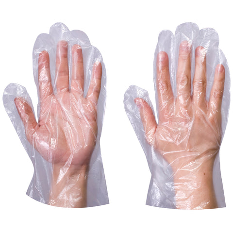 Clear Plastic Gloves - Worklayers