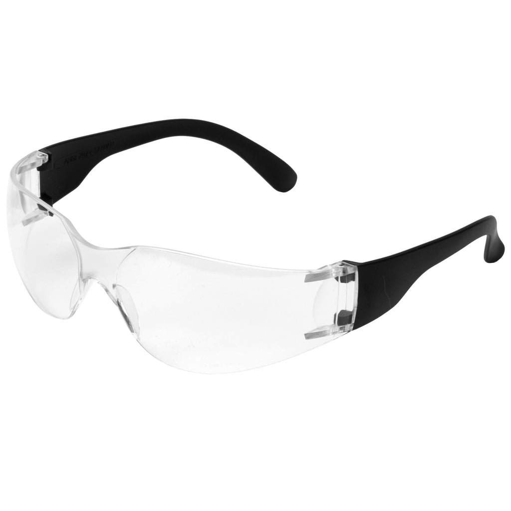 Clear Safety Glasses E10 - Worklayers.co.uk