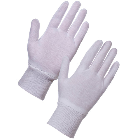Cotton Gloves Liners - Worklayers.co.uk