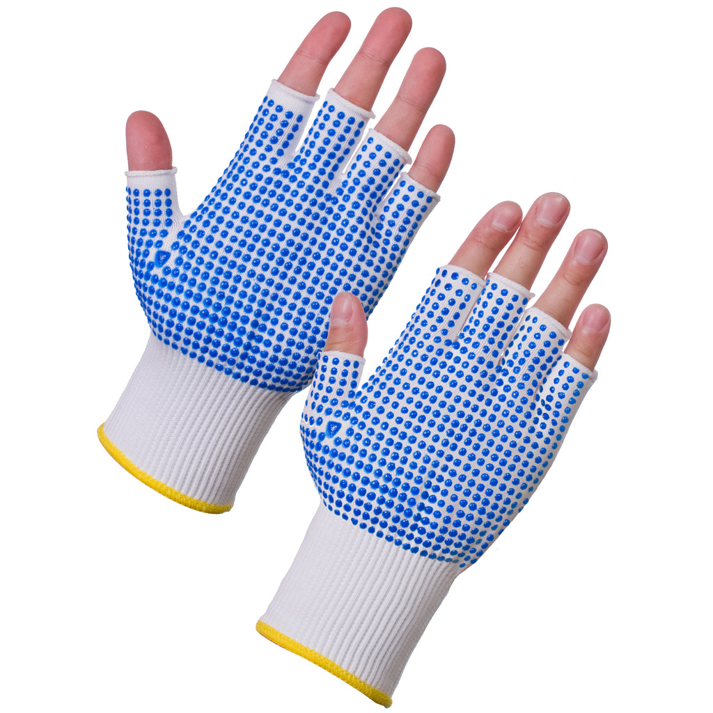 Fingerless Work Gloves - Worklayers.co.uk