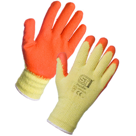 Gardening Gloves (Orange) - Worklayers.co.uk