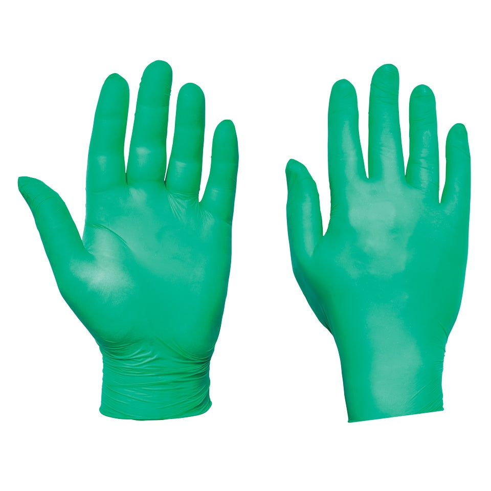 Green Nitrile Gloves Ultra - Worklayers