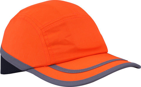 Hi Viz Safety Bump Cap Orange - Worklayers