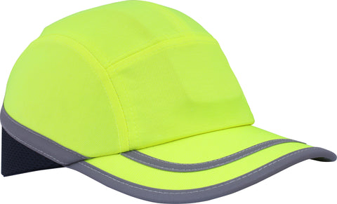 Hi Viz Safety Bump Cap Yellow - Worklayers