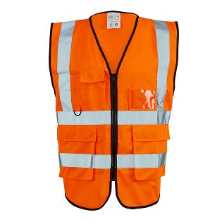 Executive Hi Vis Vest - Orange