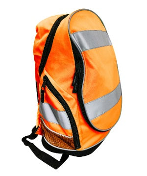 Hi Vis Backpack Orange - Worklayers.co.uk