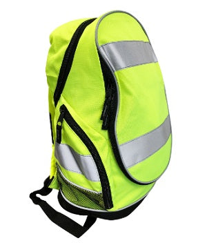 Hi Vis Backpack Yellow - Worklayers.co.uk