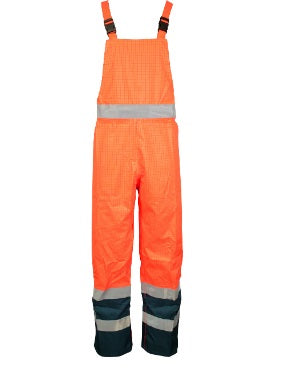 Hi Vis Bib and Brace Orange - Worklayers.co.uk