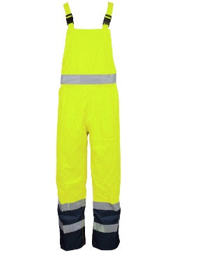 Hi Vis Bib and Brace Yellow - Worklayers.co.uk