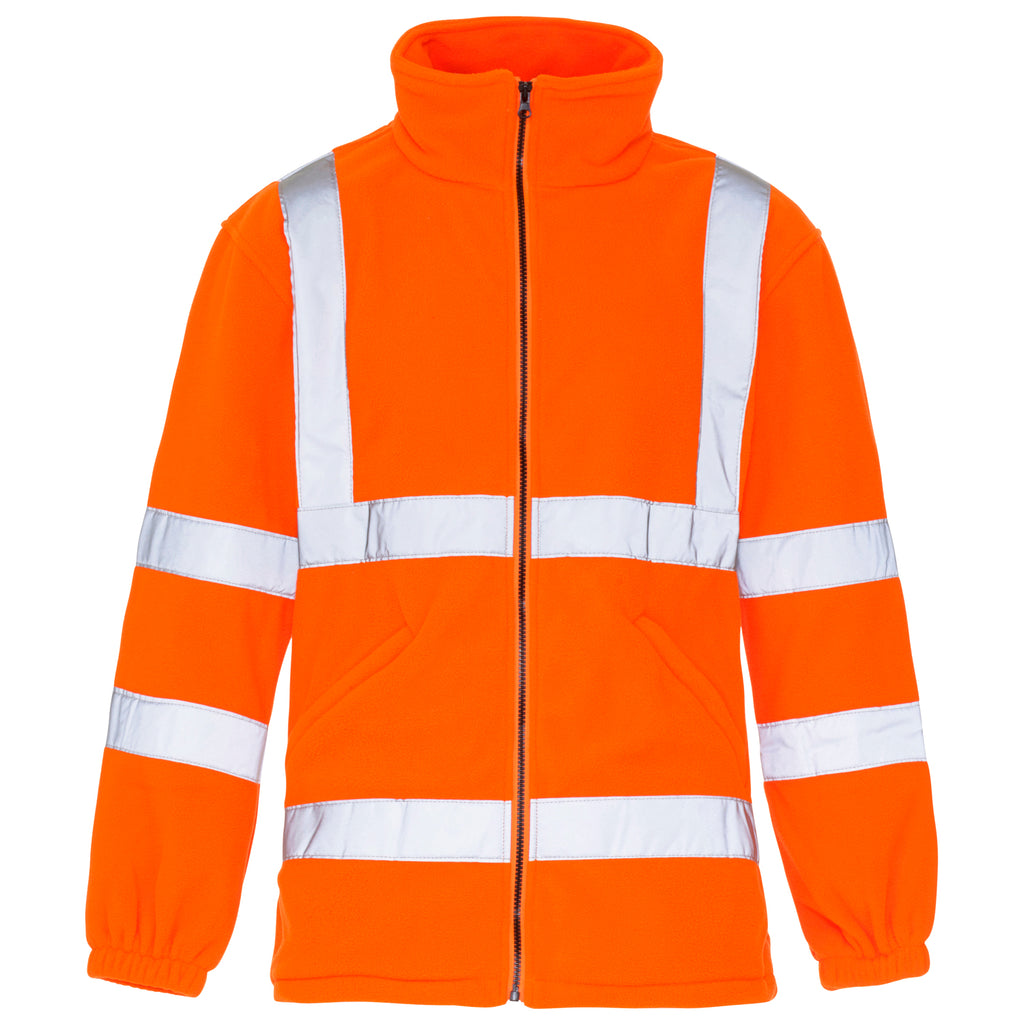 Hi Vis Fleece Orange - Worklayers.co.uk