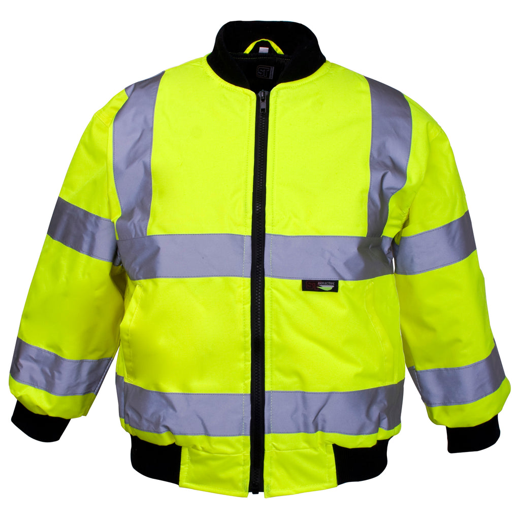 Kids Hi Vis Jackets - Worklayers.co.uk