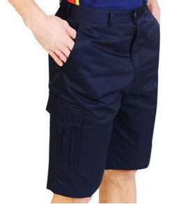 Cargo Pocket Shorts Navy Absolute Apparel - Worklayers