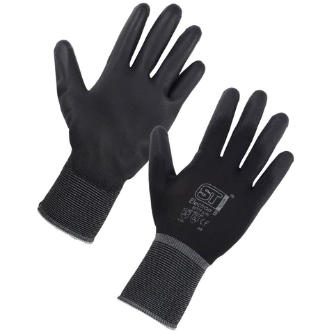 PU Gloves (Black) - Worklayers.co.uk
