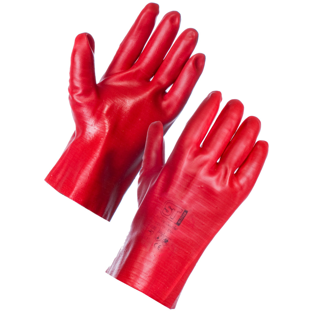 PVC Gauntlets (27cm) - Worklayers.co.uk