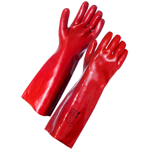 PVC gauntlets (45cm) - Worklayers.co.uk
