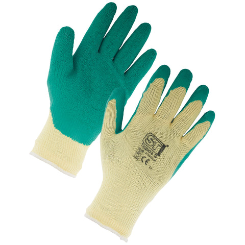Premium Gardening Gloves (Green) - Worklayers.co.uk