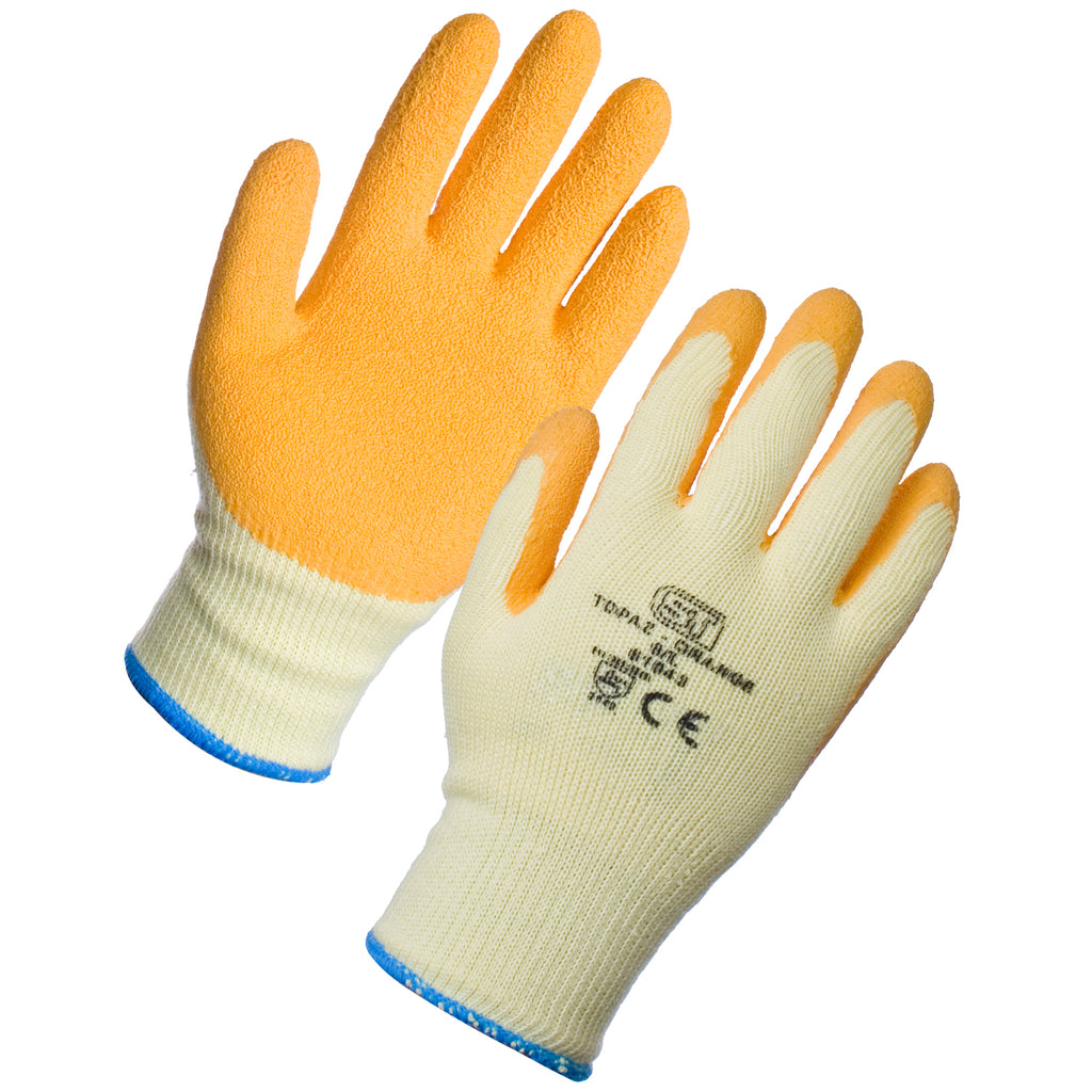 Premium Gardening Gloves (Orange) - Worklayers.co.uk