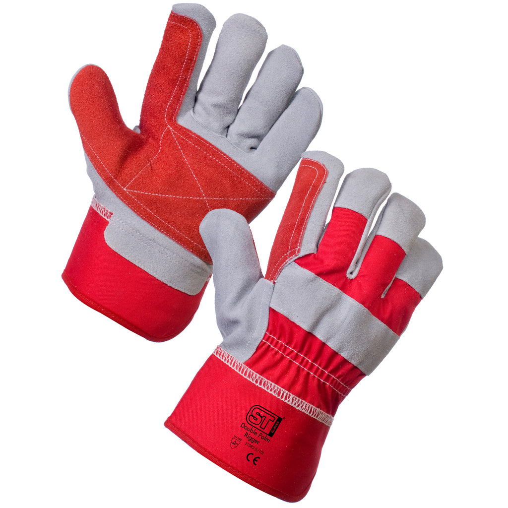 Rigger Gloves with Reinforced Palm - Worklayers.co.uk