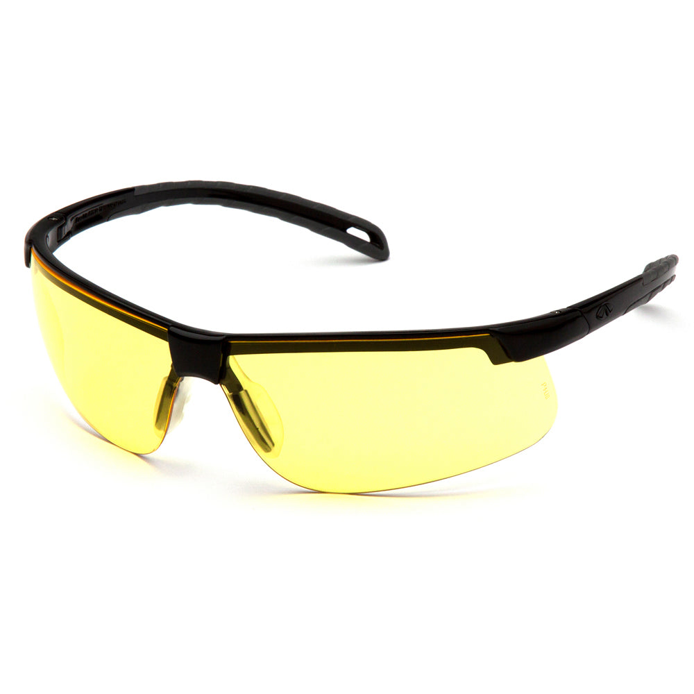 Safety Glasses Yellow Pyramex Ever Lite - Worklayers.co.uk