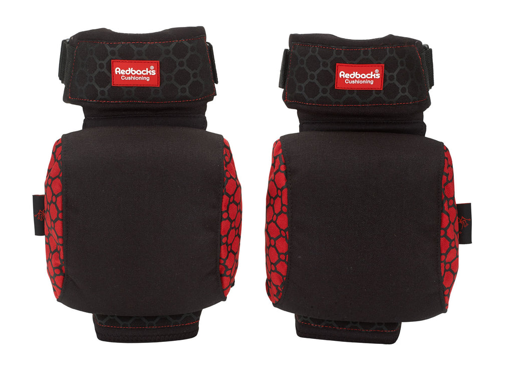 Strapped Knee Pads Redbacks - Worklayers.co.uk