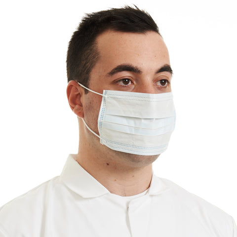 Surgical Masks (pack of 1000pcs) Blue Loop - Worklayers