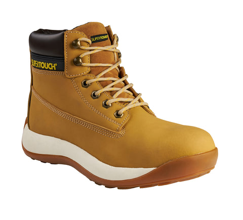 Tan Safety Boots S3 SRC - Worklayers.co.uk