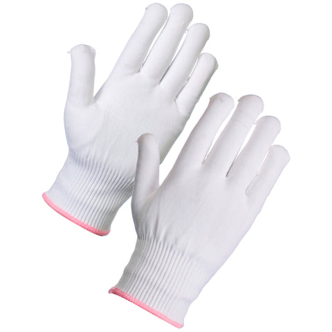 Thin Thermal Gloves (White) - Worklayers.co.uk
