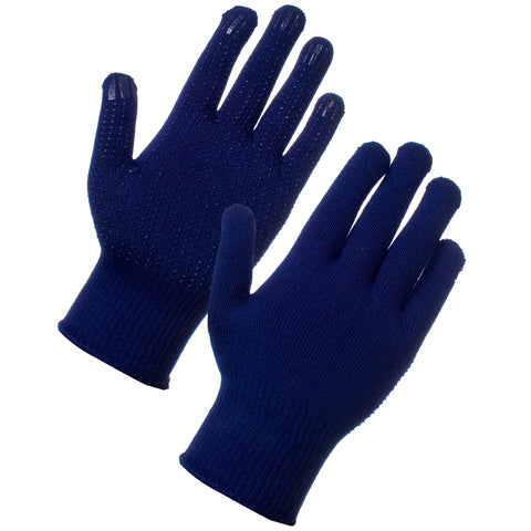 Thin Thermal Gloves With Grip - Worklayers.co.uk