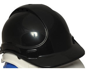 UCI Deluxe Safety Helmet Vented Black